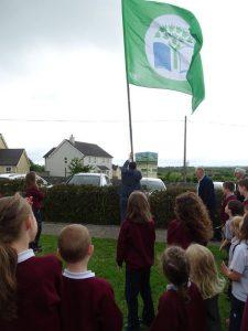 Raising our Green Flag