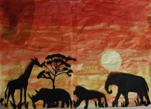 African silhouette LO'T