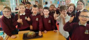 Making chocolate Cake (1)