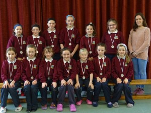 Girls Mini7's Medals presented (1)