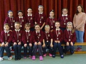 Girls Mini7's Medals presented (3)